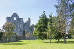 Stone castle ruins Royalty Free Stock Image
