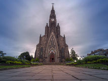 Stone cathedral Royalty Free Stock Images