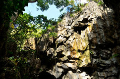 Stone cave Stock Images