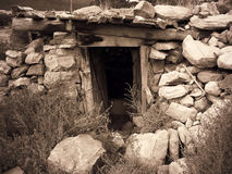 Stone Cellar Royalty Free Stock Photo
