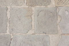 Stone and cement boulevard street Royalty Free Stock Photo
