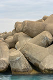 Stone cement Royalty Free Stock Image