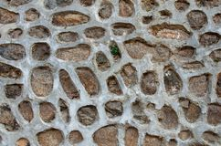 Stone and cement wall background Royalty Free Stock Photography
