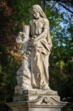 Stone cemetery statue Royalty Free Stock Photography