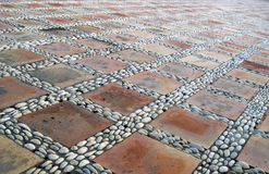 Stone and ceramic tiles Royalty Free Stock Image