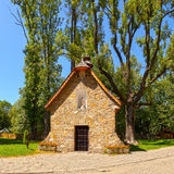 Stone chapel Stock Images