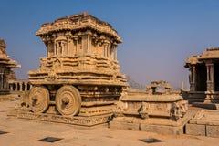 Stone chariot of Hampi Royalty Free Stock Photos