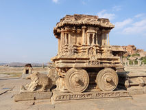 Stone chariot at Vittala Temple Stock Images