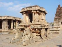 Stone chariot at Vittala Temple Stock Image