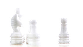 Stone Chess Pieces IV Royalty Free Stock Image