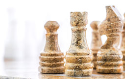 Stone Chess Pieces VIII Royalty Free Stock Image