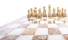 Stone Chess Pieces XI Stock Images