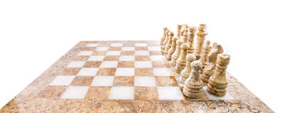 Stone Chess Pieces XII Royalty Free Stock Photo