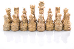 Stone Chess Pieces XVI Royalty Free Stock Photo