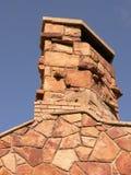Stone Chimney. Chimney at picnic area in Fish Creek Park. Calgary, Alberta, Canada Royalty Free Stock Photography