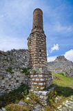 Stone chimney in Berat, Albania Royalty Free Stock Photo