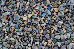 Stone Chippings Royalty Free Stock Images