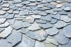 Stone chips housetop Royalty Free Stock Photography