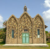 Stone Church. A small, old and very historical church located in Anguilla Royalty Free Stock Images
