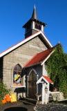 Stone Church. Wonderful church building made of stone Stock Photos