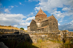 Stone church in Armenia Royalty Free Stock Photo
