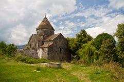 Stone church in Georgia Royalty Free Stock Photo