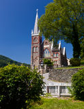 Stone church of Harpers Ferry a national park Stock Photo