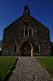 Stone church in lairg, scotland Stock Photos