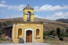 Stone Church Near Cotacachi Stock Images