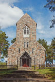 Stone church Stock Photos
