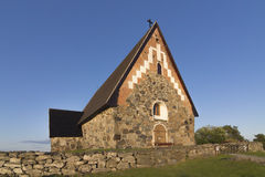 Stone church Royalty Free Stock Images