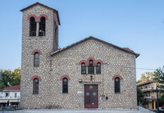 Stone Church Olympia Greece Stock Photos