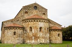 Stone Church in Pisa Stock Images