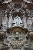 Stone church statue Stock Images