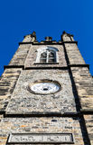Stone Church Tower from 1824 Stock Photo