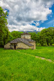 Stone church in Zagori Stock Photos