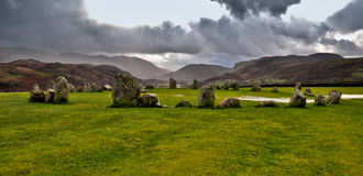 Stone circle Stock Photos