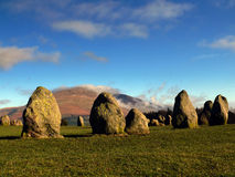 Stone Circle. In Lake District - England Stock Photography