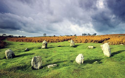 Stone circle Stock Images