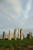 Stone Circle. Standing stone circle at Callanish, Isle of Lewis Royalty Free Stock Image