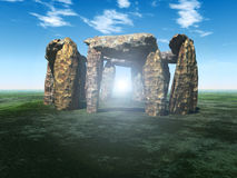 Stone Circle 7 Royalty Free Stock Image
