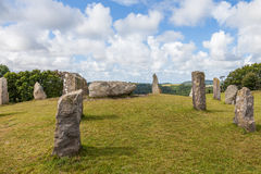 Stone circle Royalty Free Stock Images