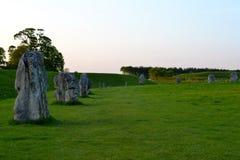 Stone circle in Avebury Royalty Free Stock Image