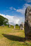 Stone circle in Avebury. Great Britain Royalty Free Stock Photo