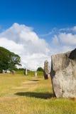 Stone circle in Avebury. Great Britain Stock Image