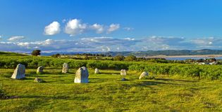 Stone Circle at Birkrigg Fell Stock Image