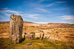 Stone circle, Ireland Royalty Free Stock Photos