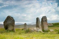 Stone circle on Lewis Stock Photos