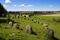 Stone circles Royalty Free Stock Photography