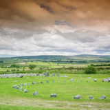 Stone circles, Beaghmore Royalty Free Stock Image